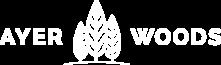 Ayer Woods Logo White WEB